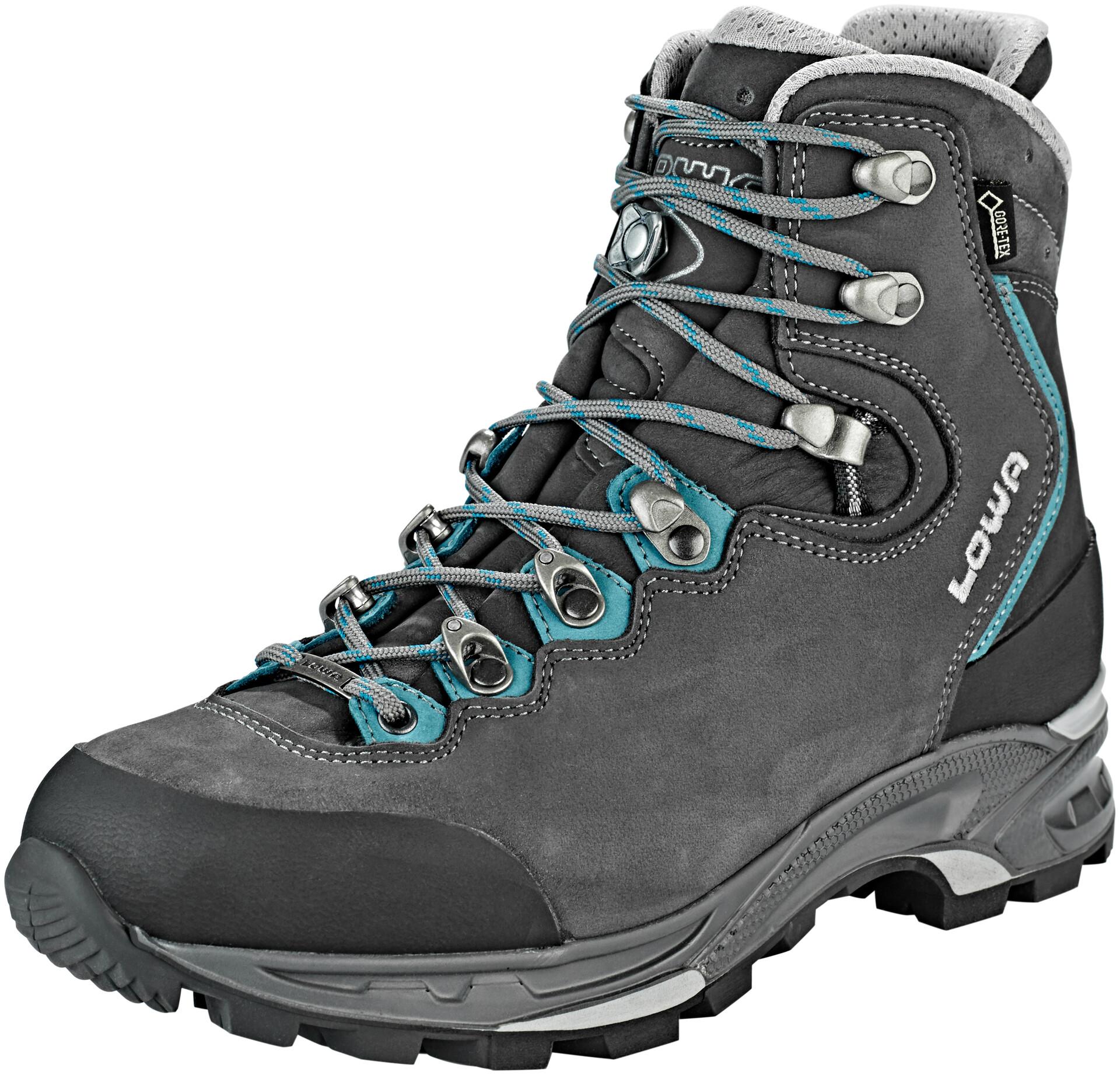 Lowa Mauria GTX Chaussures de trekking Femme, anthracitepetrol